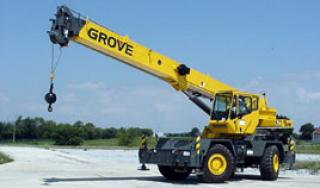 rough terrain cranes manuals operating technical specifications rh mascus ca Grove Mobile Cranes Grove RT880E Rough Terrain Cranes