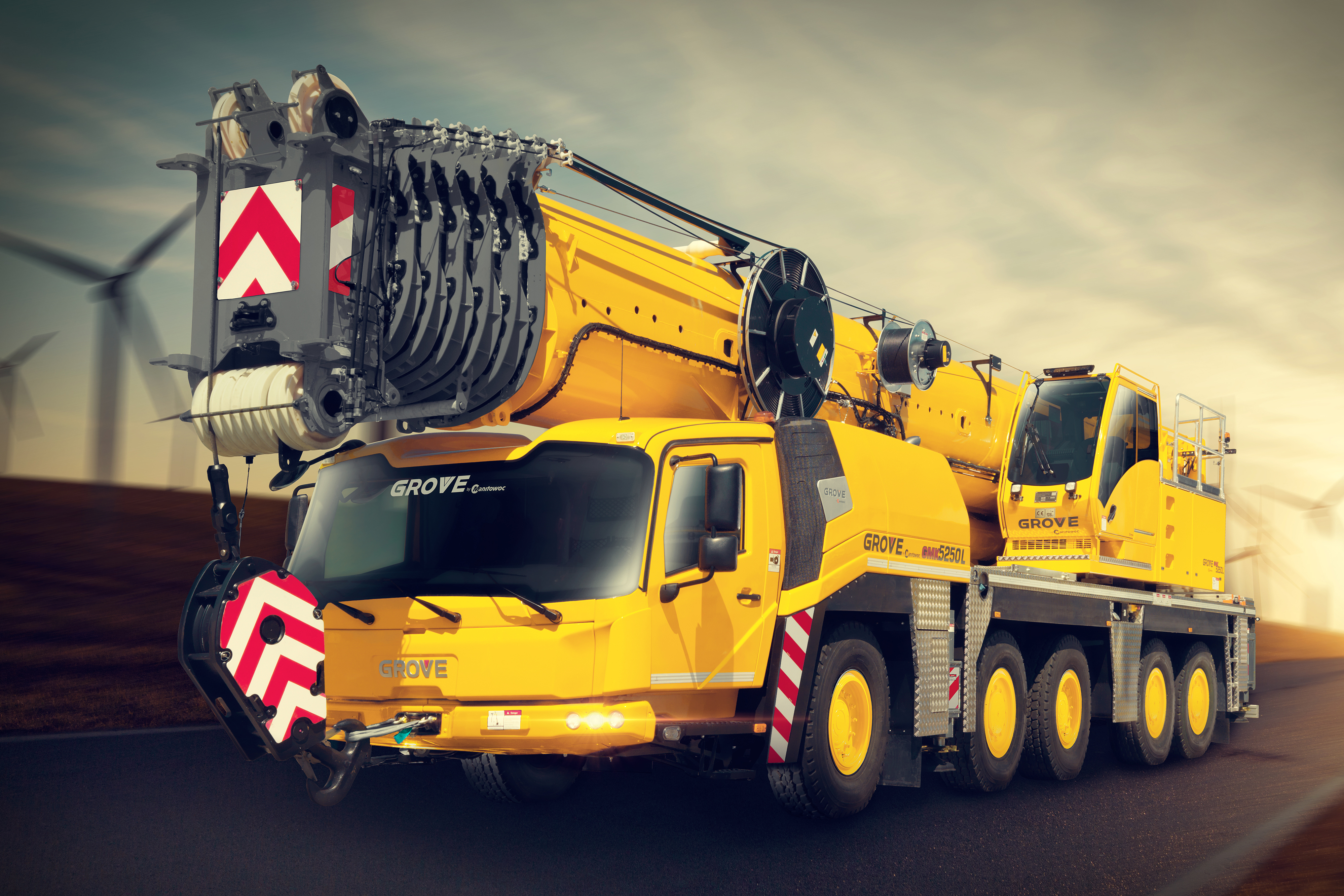 Grove All-terrain Cranes Operating Specifications and Manuals free to  download on Mascus CA